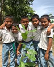 2018 FTPF school orchard planting in El Salvador