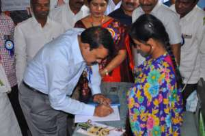 Harshita Project - District  Collector