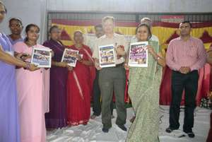 Launch of booklets on Women Empowerment songs