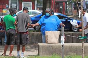 Front Line worker feeds Homeless Youth