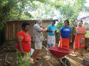 Bua Women's Group Trainees