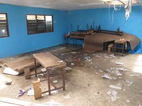 damages to the classroom