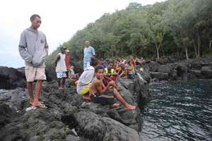arrival in Mere Lava in the Banks group