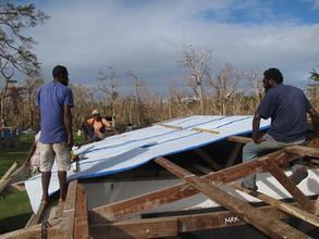 Panganisu school roof