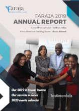 Faraja 2019 Annual Report cover