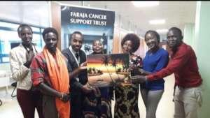 Faraja volunteers and supporters in Eldoret