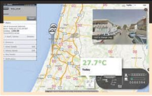 Real-Time Temp. and Location Monitoring System