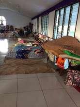 Makeshift shelter in Eratap outside Port Villa