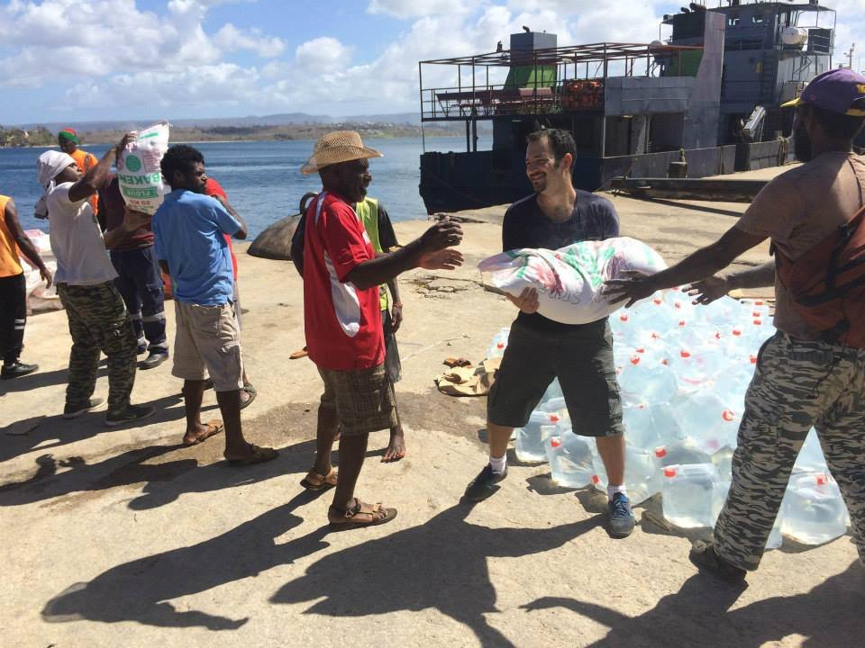 Emergency Aid for Vanuatu After Cyclone Pam