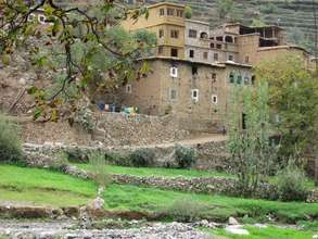 Village in the High Atlas Mountains