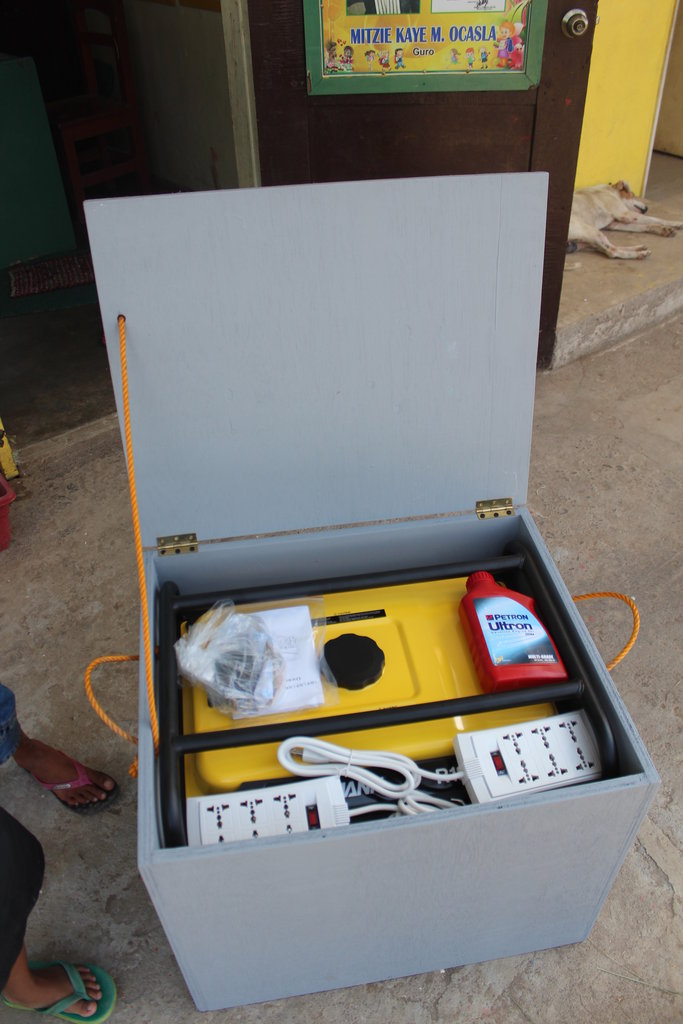 An Emergency Generator for San Agustin Daycare