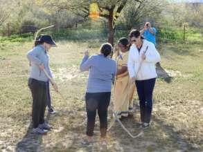 Toka! A traditional Tohono O'odham game