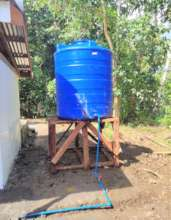 AAI provides water tanks for the new village
