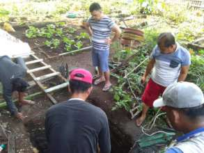 Clean water will nourish students and their garden