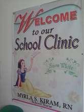 Rebuilt School Clinic at Haji Hassiman Elementary