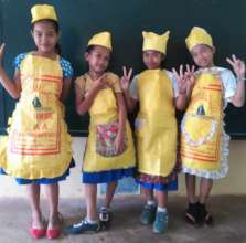 Hand made aprons by Moms and kids in Sulu
