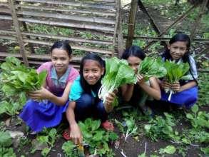 School Garden at Bunot Elementary
