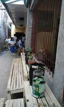 Flower pot veggie garden at Haji Hassiman ES