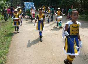 Majorettes for peace and unity, Indanan