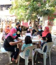 Teachers conducted open air sessions with students