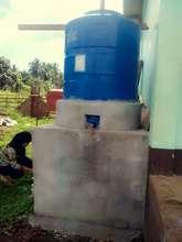 water tanks store rainwater at AAI schools