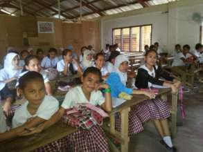 Muslim students at AAI supported school , Mindanao