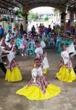 Ilongo peewee folk dancers in Visayas