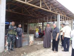 Building new madrasa w community action in Jolo