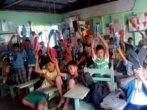 Joy: New AAI rubber sandals for shoeless students