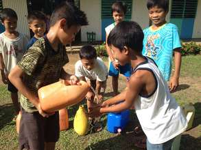 clean water & hygiene at Duenas Elementary School