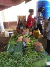 Fresh water tank at Bunot school kitchen