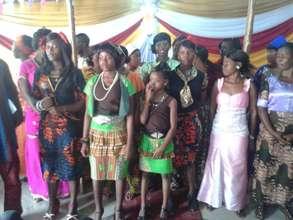 Ebola affected girls groups