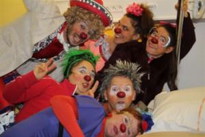 Soleil Rouge Clowns team