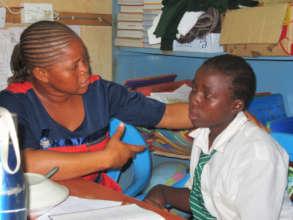 Kenya Keys staff help students through challenges