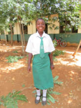 Joyce is jubilant to begin her secondary education