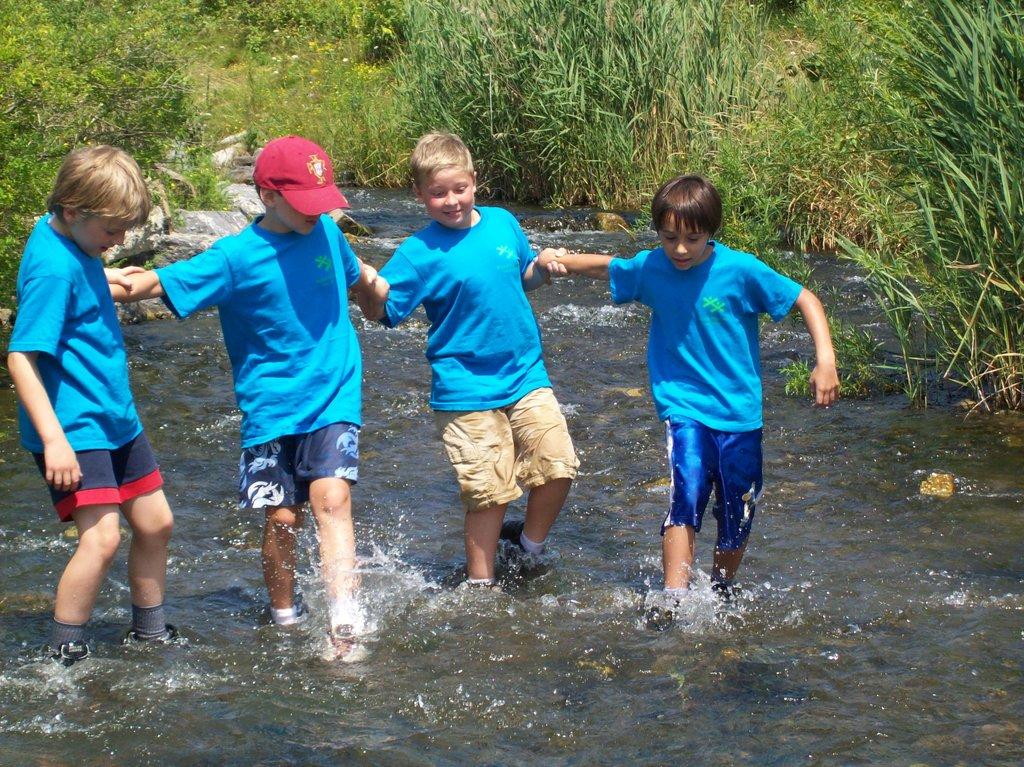 Send a kid to summer camp!