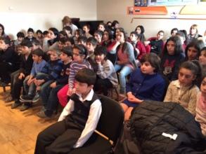 Children Recieving Dental Care in Gyumri Dental