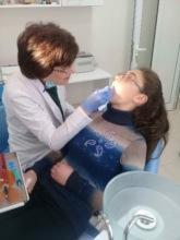 Dr. Lora Amatuni at SOAR Dental Clinic in Gyumri