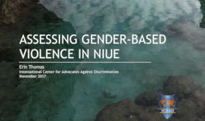 Cover of the Niue Report