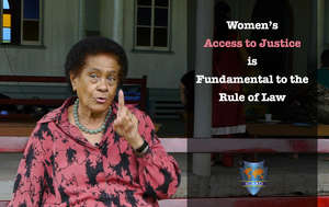 Women's Access to Justice is Fundamental