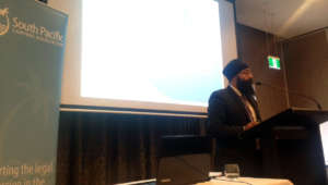 Presenting at a Pacific Lawyer's Conference