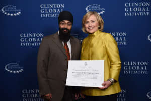 Sec. Clinton Recognizes CGI Commitment to Action