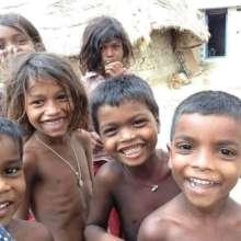 Children from village