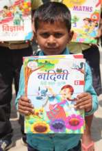 sonu with his new book