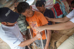 Mobile teams reached remote quake-affected areas
