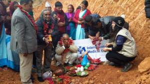 Community members during Silyanyash ceremony