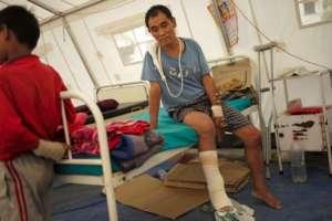 Dhan at Gorkha Hospital, Nepal