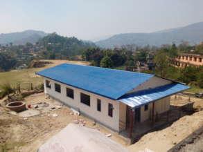 Reconstruction at Dharmasthali Health Post