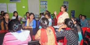 Learning skills to save lives in their communities
