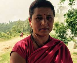 Tukumaya, member of the Women's Committee